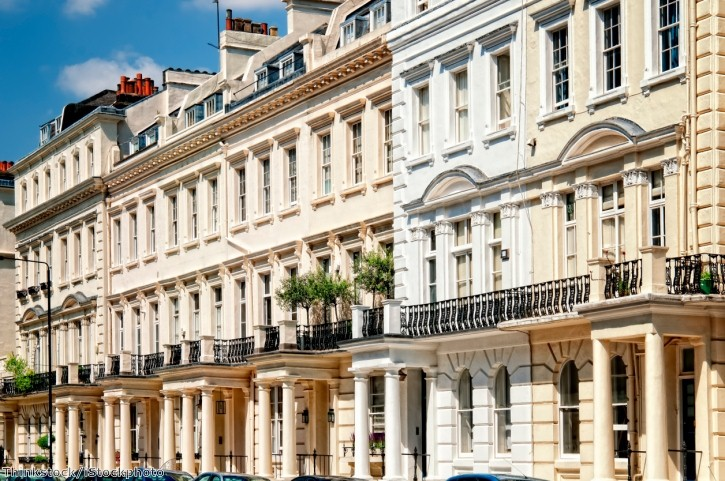 More British buyers are purchasing 'super-prime' properties - worth £10 million or more - in London.