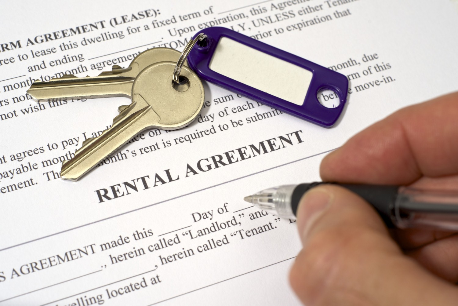Rental property demand hit two-year low in December [Photo: Richard Sharrocks via iStock]