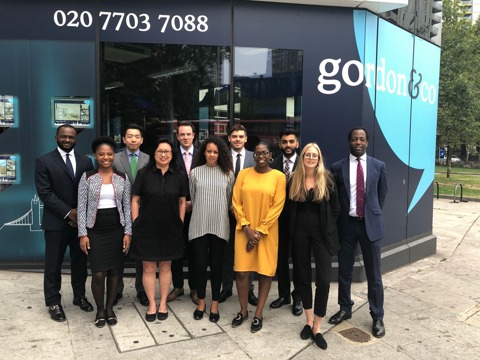 Gordon & Co Elephant & Castle Team