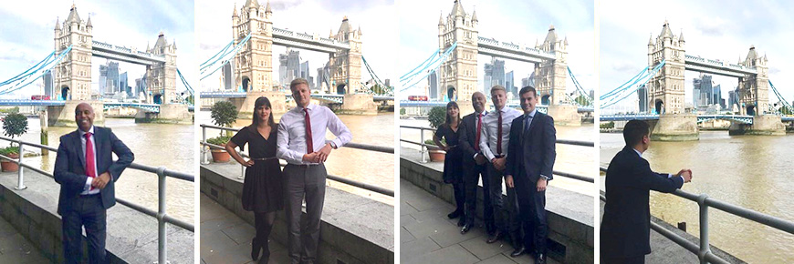 Gordon & Co Tower Bridge Estate Agents team