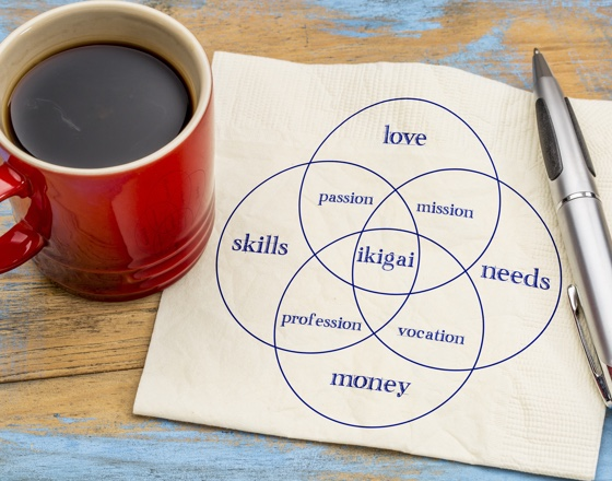 Improve your life with ikigai - Gordon & Co Estate Agents